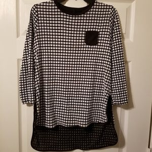 IC Connie K Tops - IC By Connie K Made in the USA tunic size small